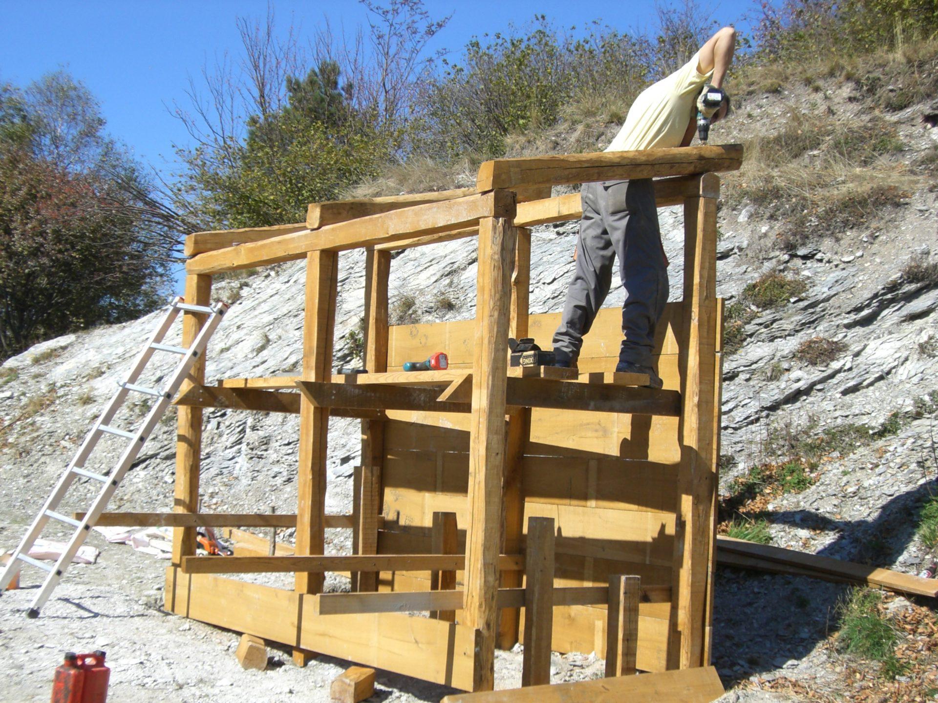 Costruzioni in legno 1 coop tracce for Costruzioni in legno